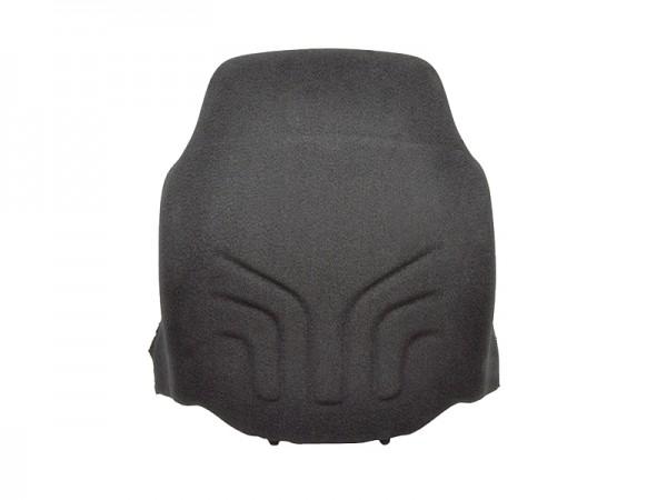 Polster Rücken MSG 20 Schmal Stoff schwarz