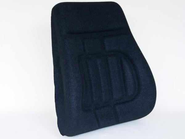 Polster Rücken H90HLA Stoff schwarz
