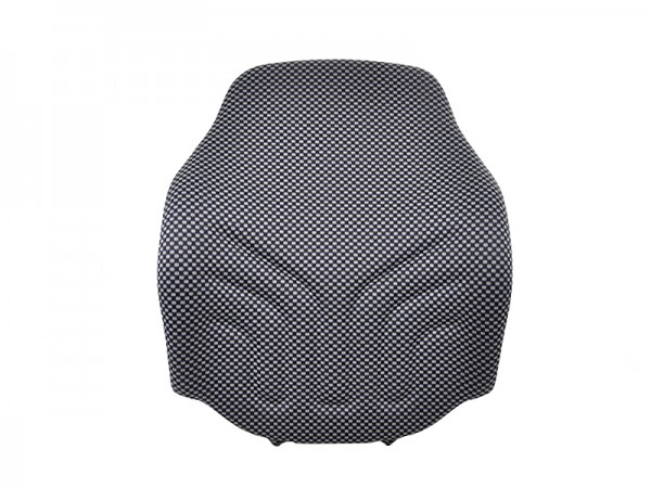Polster Rücken MSG 20 Schmal Stoff blau schwarz